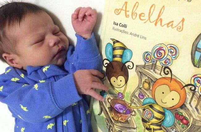 Bebês desenvolvem processo de leitura