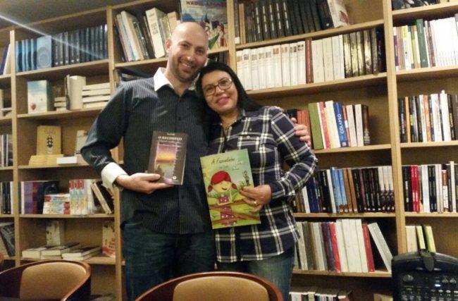 A Escritora Isa Colli lança novos livros na Europa